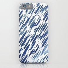 Boho Blue Brushstroke iPhone 6s Slim Case