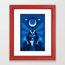 Mayari: The Philippine Moon Goddess Framed Art Print