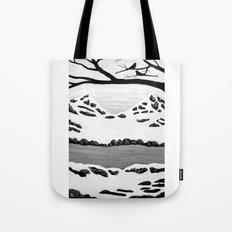 Scissortail Winter Tote Bag