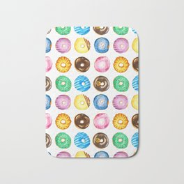Donuts Festival Bath Mat