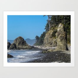 Ruby Beach, Olympic Peninsula, Washington Art Print