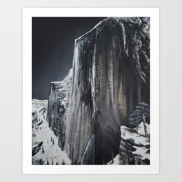 Ode to Ansel Adams: Monolith Art Print