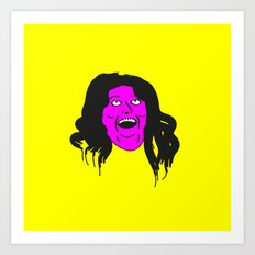 Monica Geller Art Print