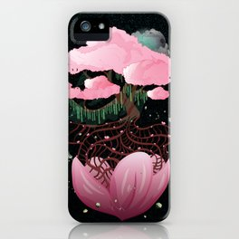 The last tree of life iPhone Case