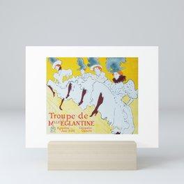 Dance Troupe Mini Art Print