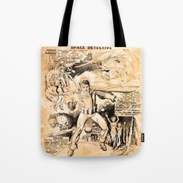 BEFORE STARLORD - SPACE DETECTIVE Tote Bag