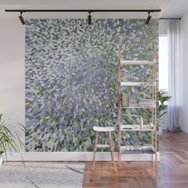 Sage and Lilac Waves Juul Art Wall Mural