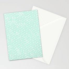 Dotted - Mint Stationery Cards