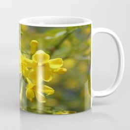 Fragrant Yellow Flowers Of Carolina Jasmine Coffee Mug