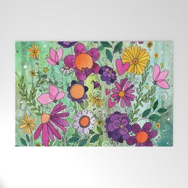 Purple Plum Parfait Welcome Mat