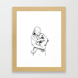 Jane Goodall Framed Art Print