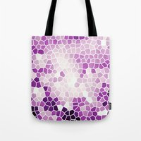 Pattern 8 - Grape kisses Tote Bag