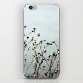 Blue Weeds iPhone Skin