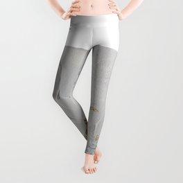 BlackWhiteGold Leggings