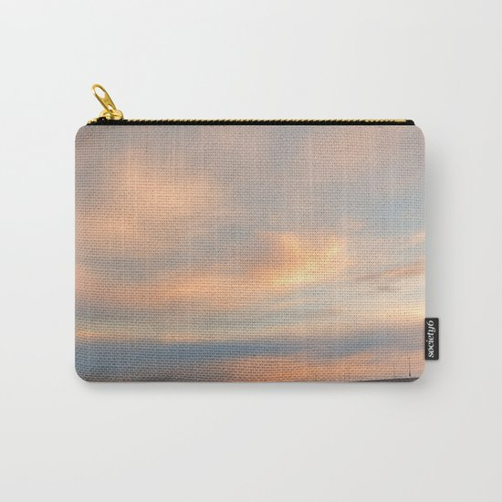 Sunset Sky Bridge Carry-All Pouch