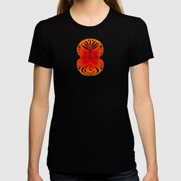 Red Fans and Faces T-shirt
