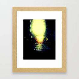 DUMBO. Framed Art Print