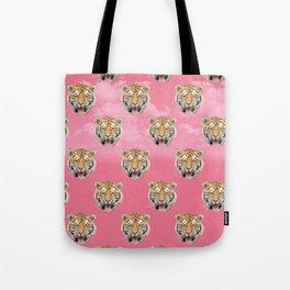 TIGER PINK PATTERN Tote Bag