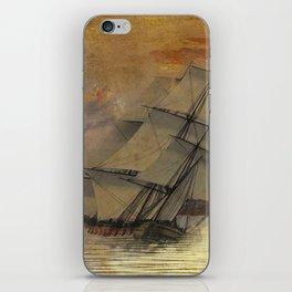 Old Ship iPhone Skin