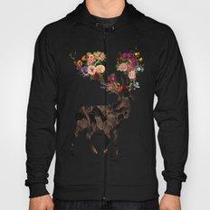 Spring Itself Deer Flower Floral Tshirt Floral Print Gift Hoody