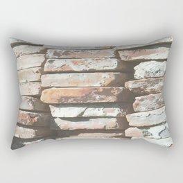 Ancient Andalucian Bricks Rectangular Pillow