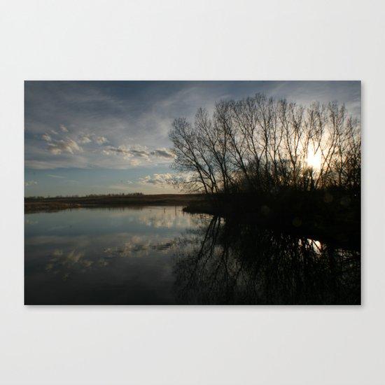 Sunset Dynamite  Canvas Print