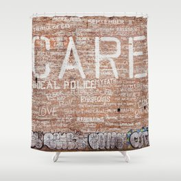 Care Shower Curtain