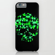 Triangle Camouflage Skull (BLACK) iPhone 6s Slim Case
