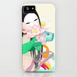 koi dance iPhone Case