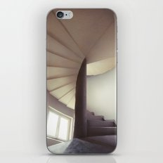 Spiral frontal iPhone Skin