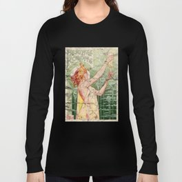 Absinthe Robette Vintage Alcohol Art Advert Long Sleeve T-shirt