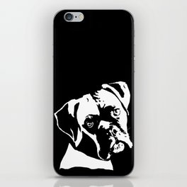 GIFTS FOR BOXER DOG LOVERS FROM MONOFACES IN 2021 iPhone Skin