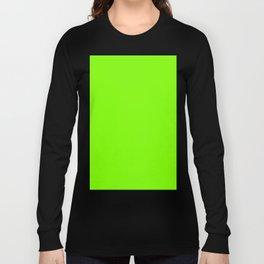 Chartreuse Green Long Sleeve T-shirt