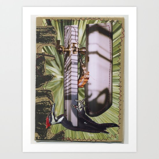 Woodpecker Art Print