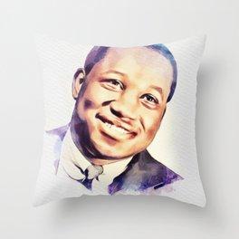 Clifford Brown, Music Legend Throw Pillow