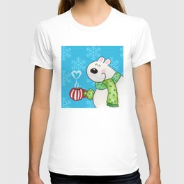 Hot Cocoa Polar Bear T-shirt