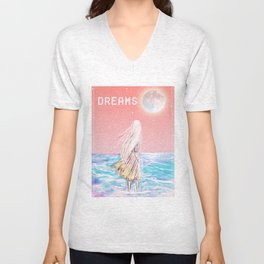 dreams Unisex V-Neck