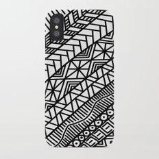 Quick Doodle iPhone X Slim Case