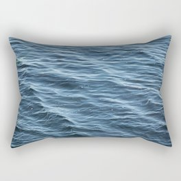 Ocean Wave Pattern 1 Rectangular Pillow