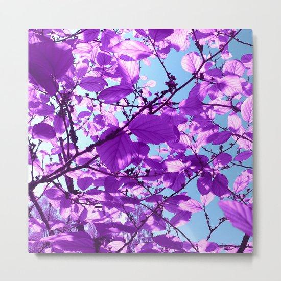 purple tree XXVIII Metal Print