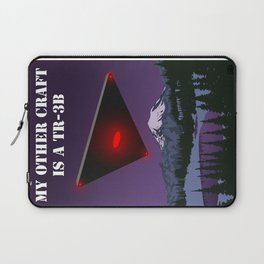 My Other Craft Is A TR-3B Laptop Sleeve