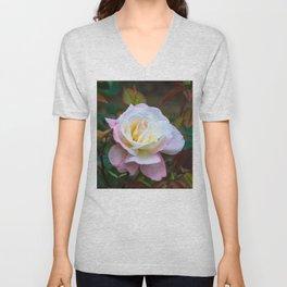 A rose Unisex V-Neck