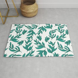 Wild Leaves / Clutter Pattern Rug