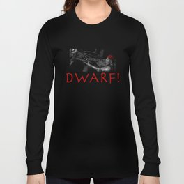 Dwarf vs. Hook Horror  Long Sleeve T-shirt