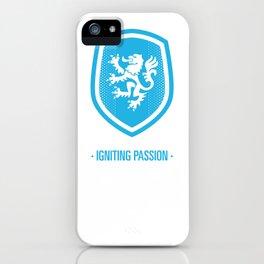 Elf - Igniting Passion (Blue) iPhone Case