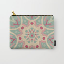 Mandala Faded Watermelon Carry-All Pouch
