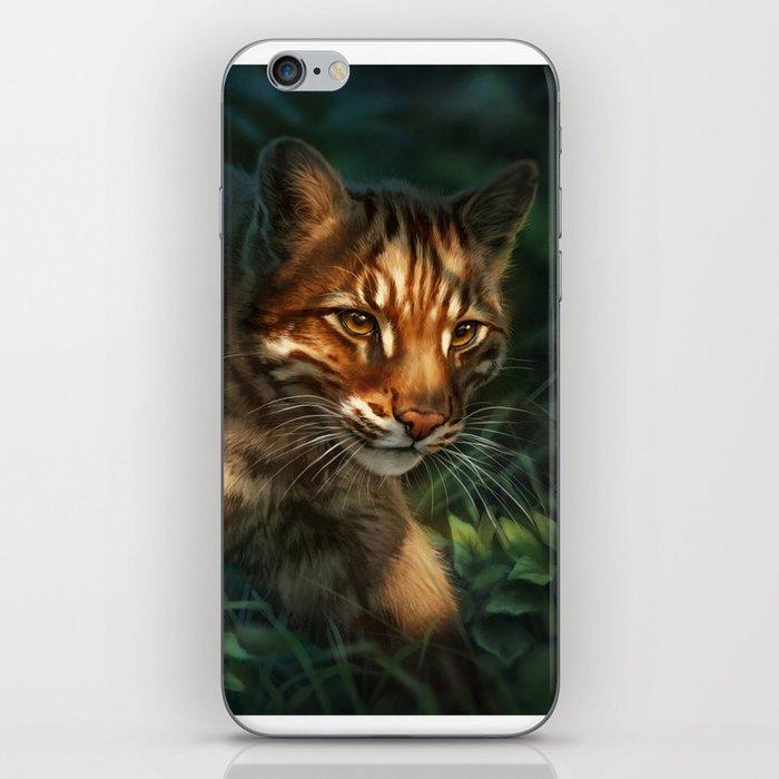 Golden Cat iPhone Skin