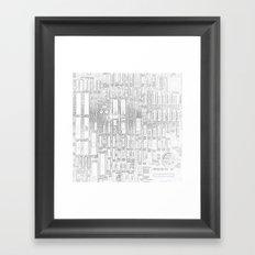 Robot People   (A7 B0019) Framed Art Print
