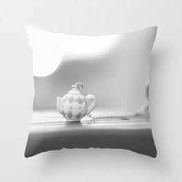 mini teapot Throw Pillow