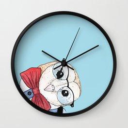 Dapper Owl Wall Clock
